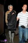 German pop star Bill Kaulitz samples the LA nightlife with a visit to the STK Steakhouse