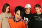 Tokio Hotel; Musikgruppe, Rockmusik; D - vlnr.: Georg Listing, Saenger Bill Kaulitz, Tom Kaulitz, Gustav Schaefer